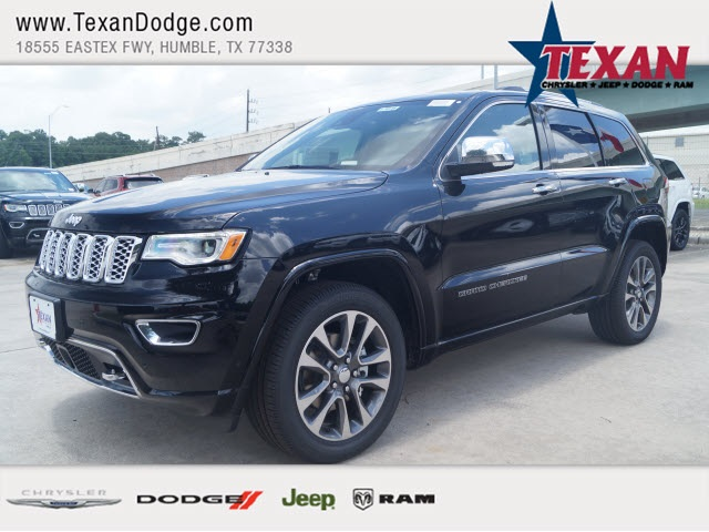 New 2017 Jeep Grand Cherokee Overland 4D Sport Utility in Humble